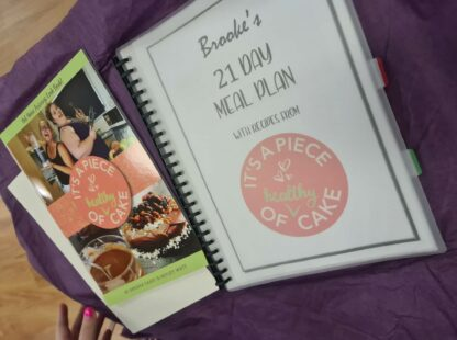cookbook and 21 day meal plan